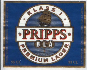 Pripps Bla Premium Lager