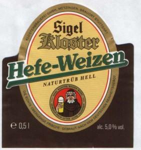 Sigel Kloster Hefe-Weizen