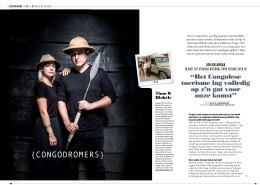 AS Adventure Magazine - Interview over Congo Virunga Safaris met Timo & Michele De Nijs