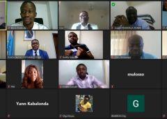 RDC : les acteurs du numérique en réunion virtuelle avec le Ministre du Numérique