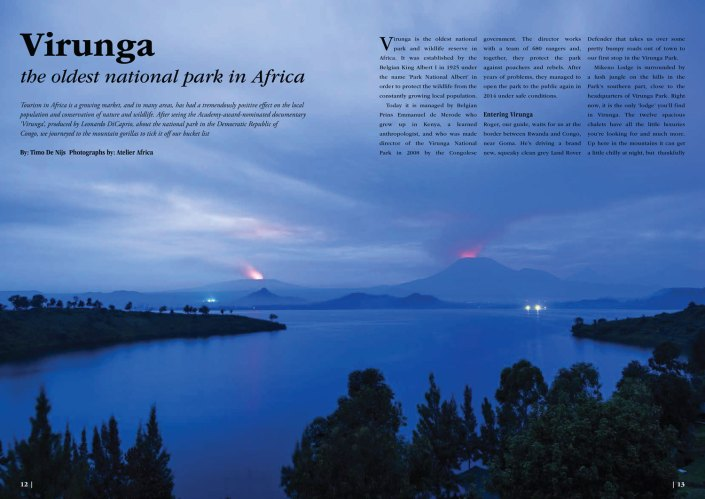 Congo Virunga Gorilla Safari - Article Flamgino Magazine