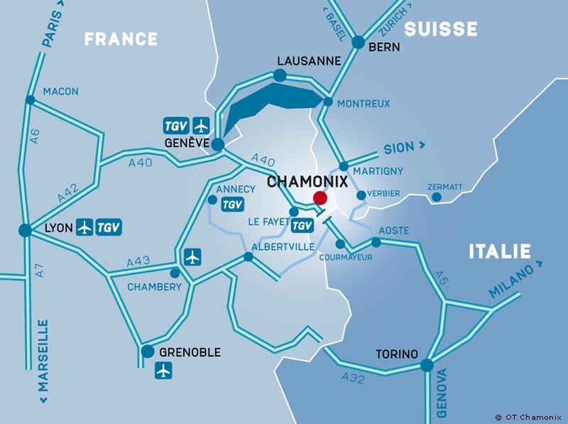 Chamonix Getting Here Chamonix Mont Blanc Convention