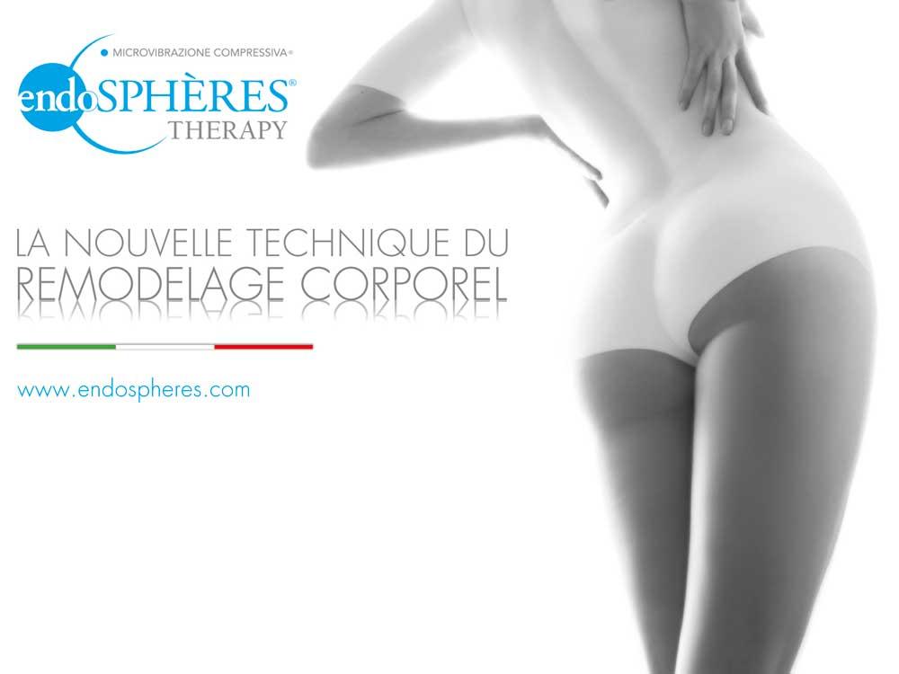 Endosphres Therapy  Fenix Group au salon du spa de lesthtique du maquillage et des ongles