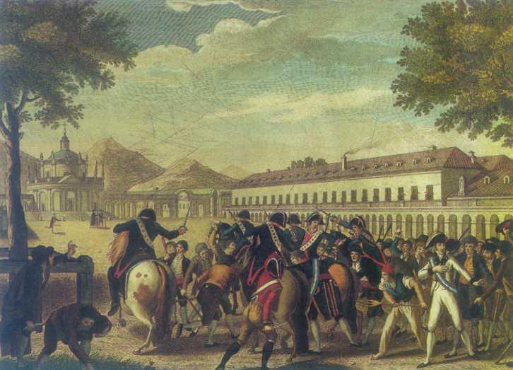 riot of aranjuez