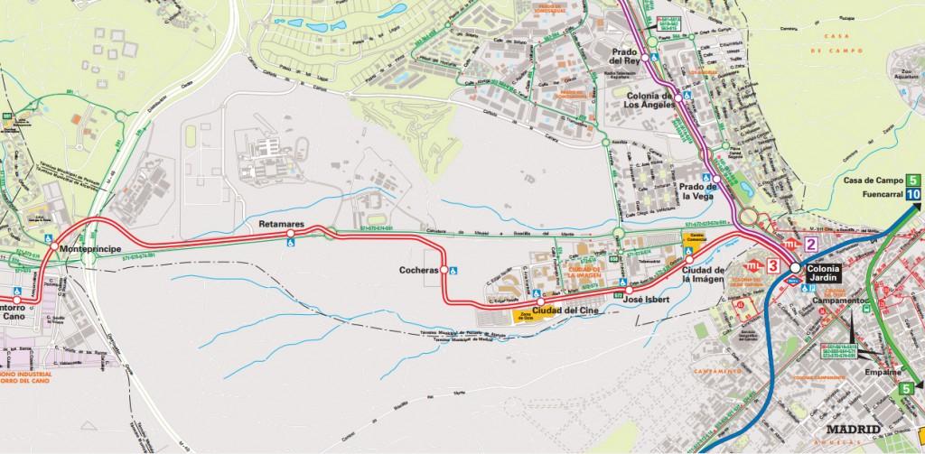 Como llegar-Mapa ML3