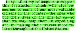 Rep. Cedric Richmond (VA), December 3, 2013 Congressional Record