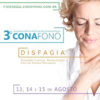 3º CONAFONO - Congresso Nacional de Fonoaudiologia - Disfagia