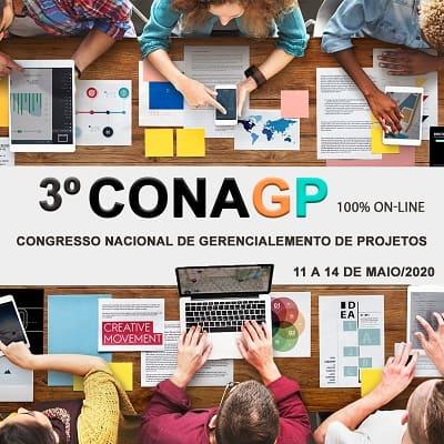 3º ConaGP 100 online - Congresso Nacional de Gerenciamento de Projetos