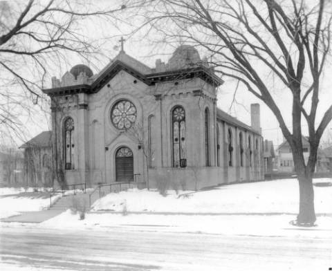 Pholimenas Catholic Ch at 14th Ave at Detroit