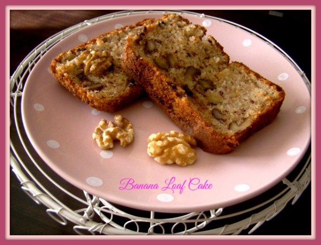 Loaf Cake de Plátano