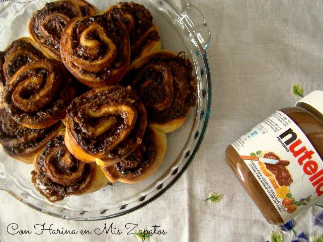 Nutella Rolls Para Una Merienda Express
