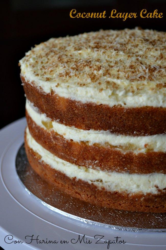 Layer Cake de Coco