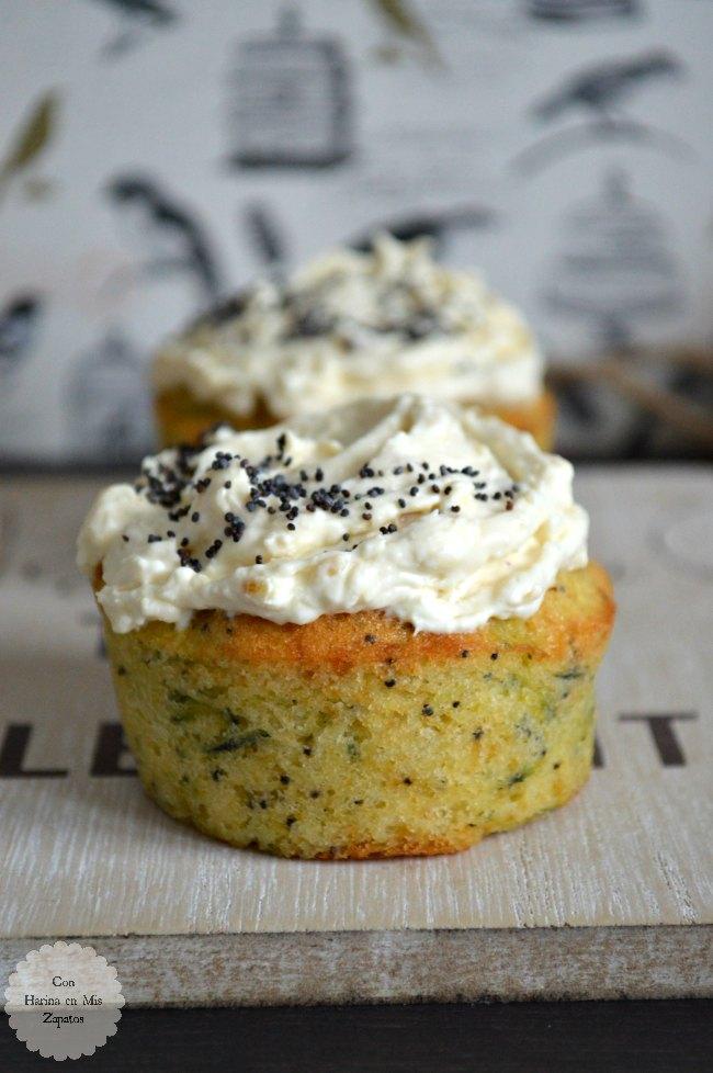 Muffins de Limón y Calabacín