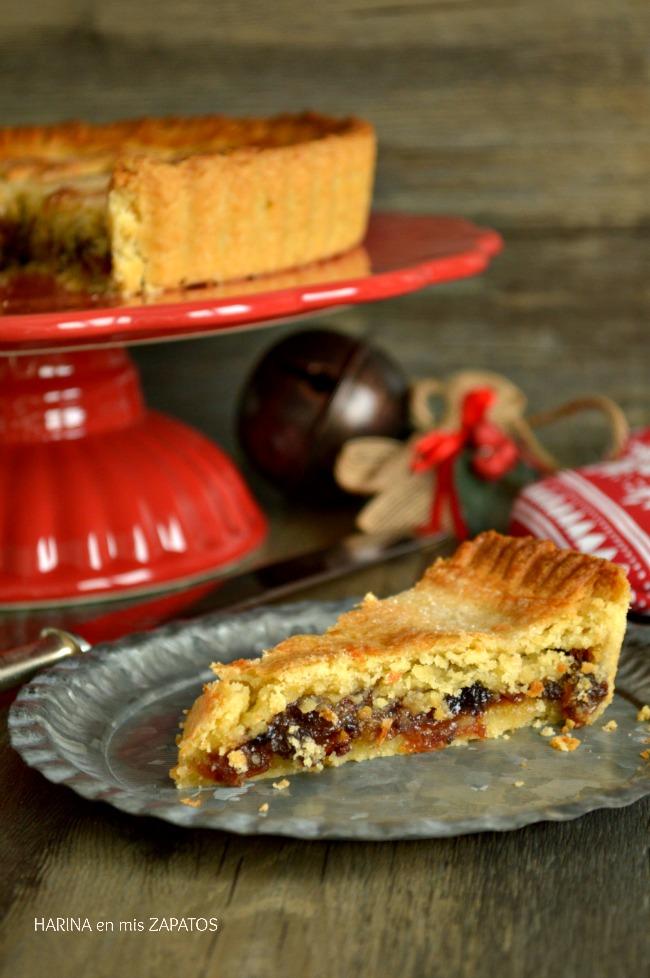 Mincemeat Pie o Tarta de Fruta Inglesa