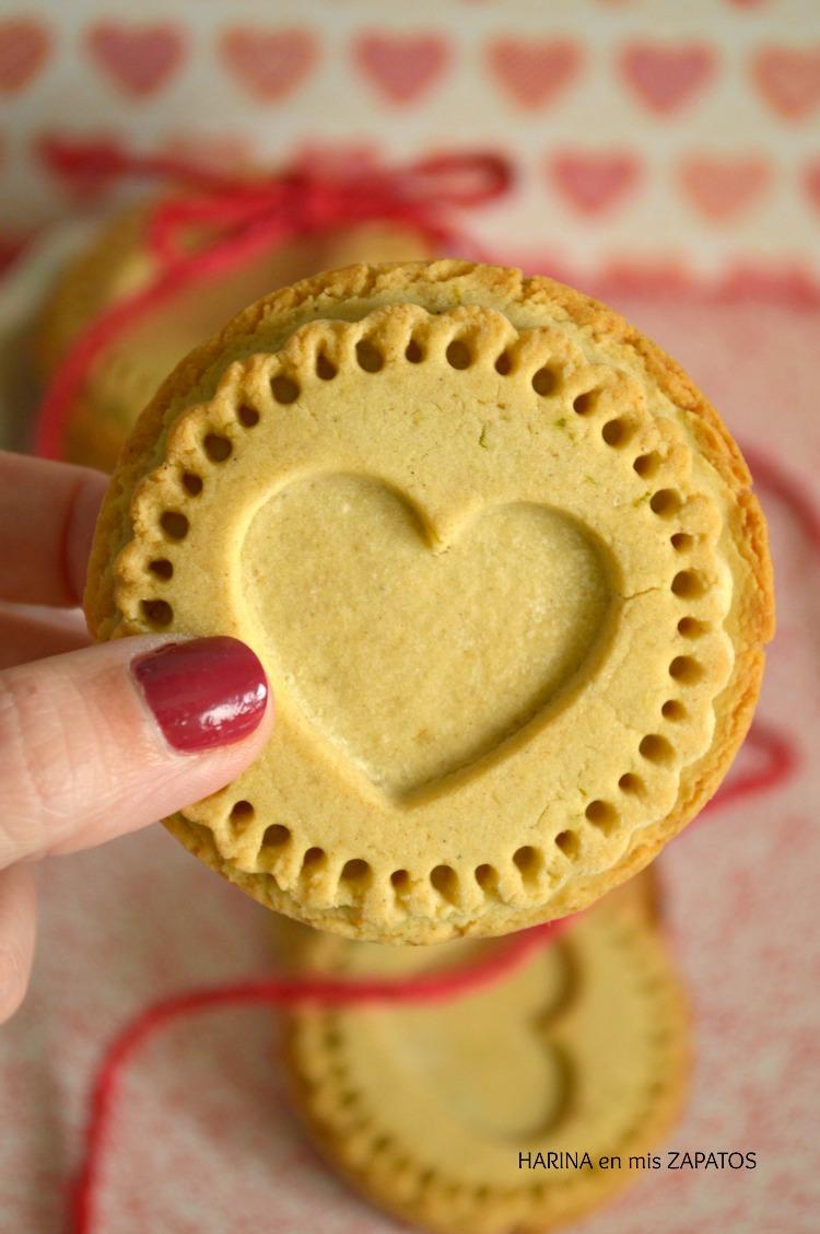 Galletas de Cardamomo para San Valentín
