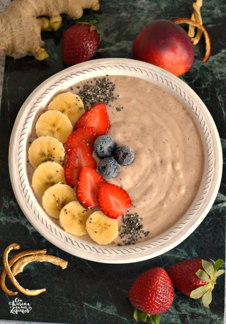 Nectarina Smoothie Bowl