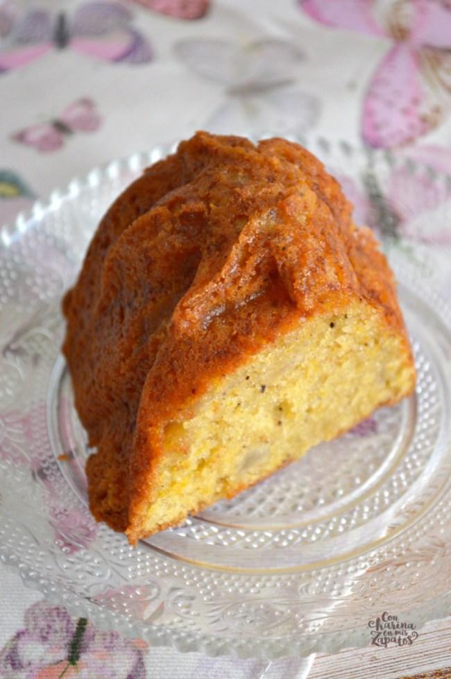 Bundt Cake de Calabaza y Pera | CON HARINA EN MIS ZAPATOS