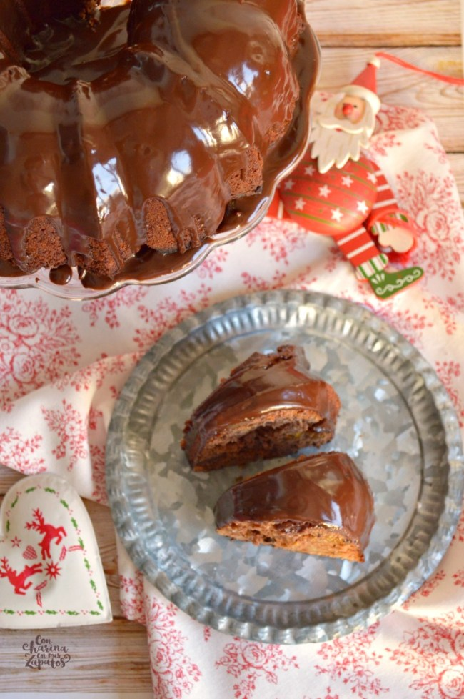 Bundt Cake de Higos Secos | CON HARINA EN MIS ZAPATOS