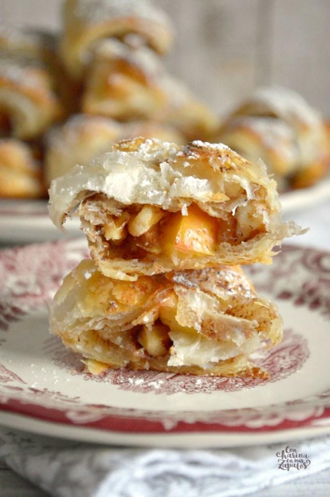 Bocaditos de Tarta de Manzana | CON HARINA EN MIS ZAPATOS