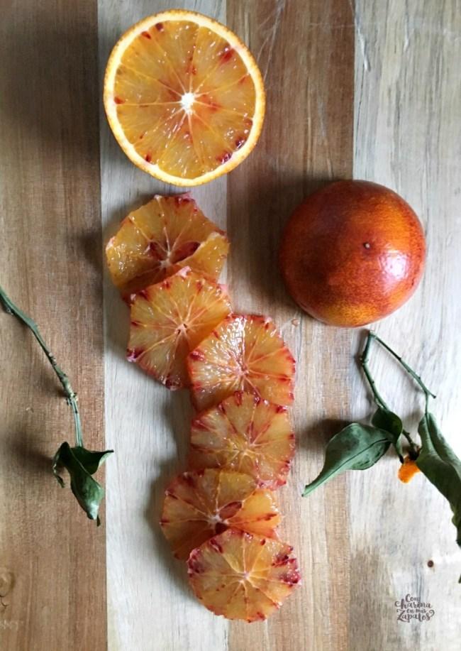 Galette de Naranja Sanguina y Frangipane | CON HARINA EN MIS ZAPATOS
