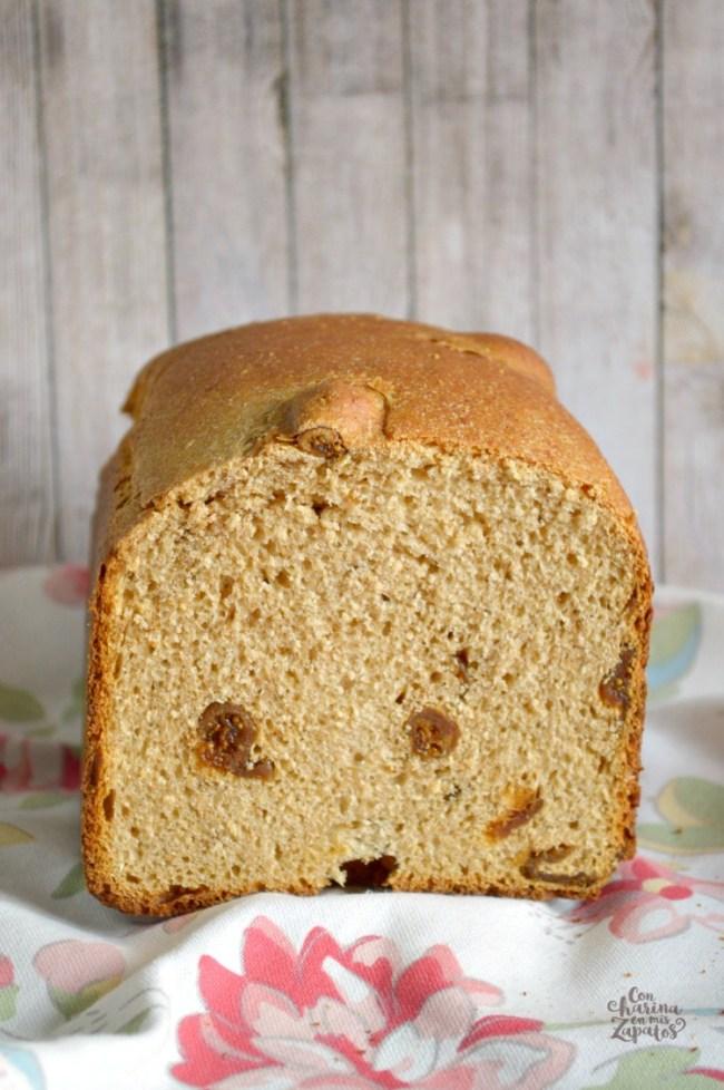 Pan de Higos Secos y Espelta | CON HARINA EN MIS ZAPATOS