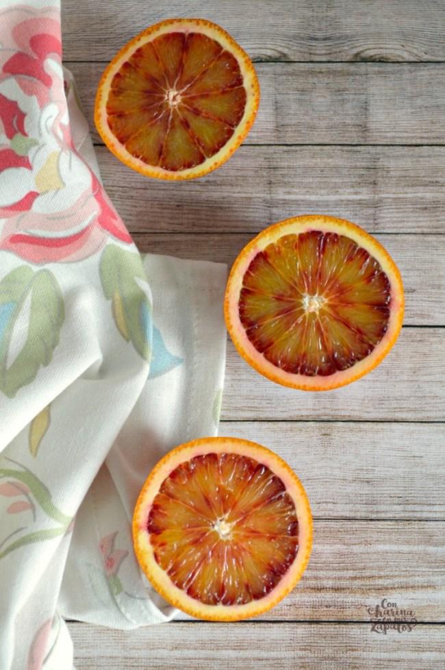 Loaf Cake de Naranja Sanguina y Semillas de Amapola | CON HARINA EN MIS ZAPATOS