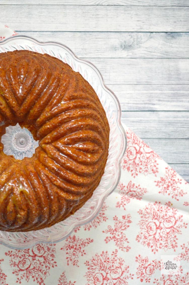 Bundt Cake con Fruta de la pasión
