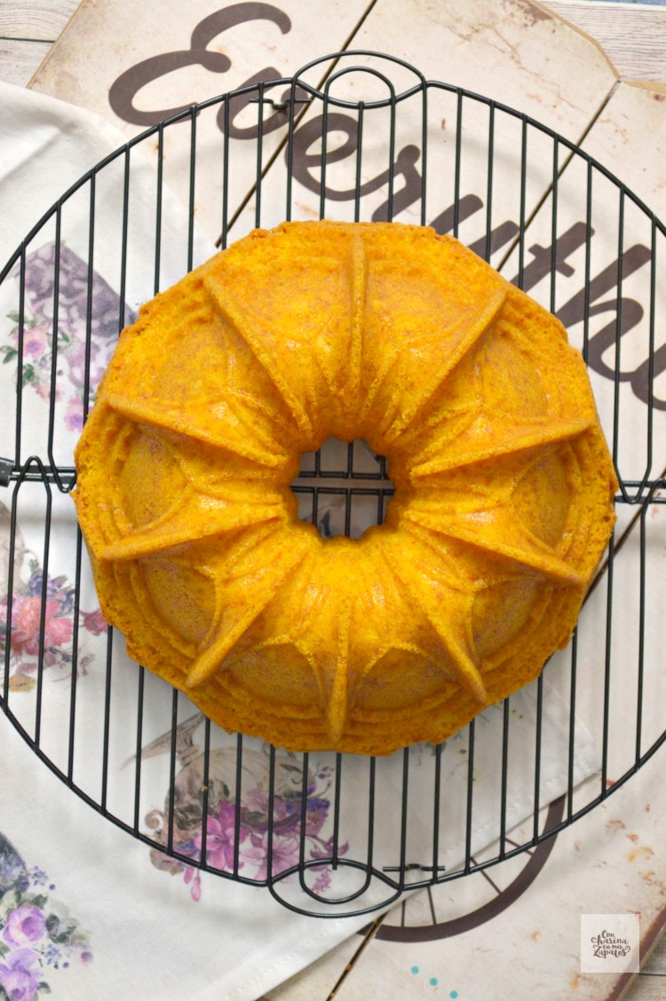Bundt Cake de Azafrán