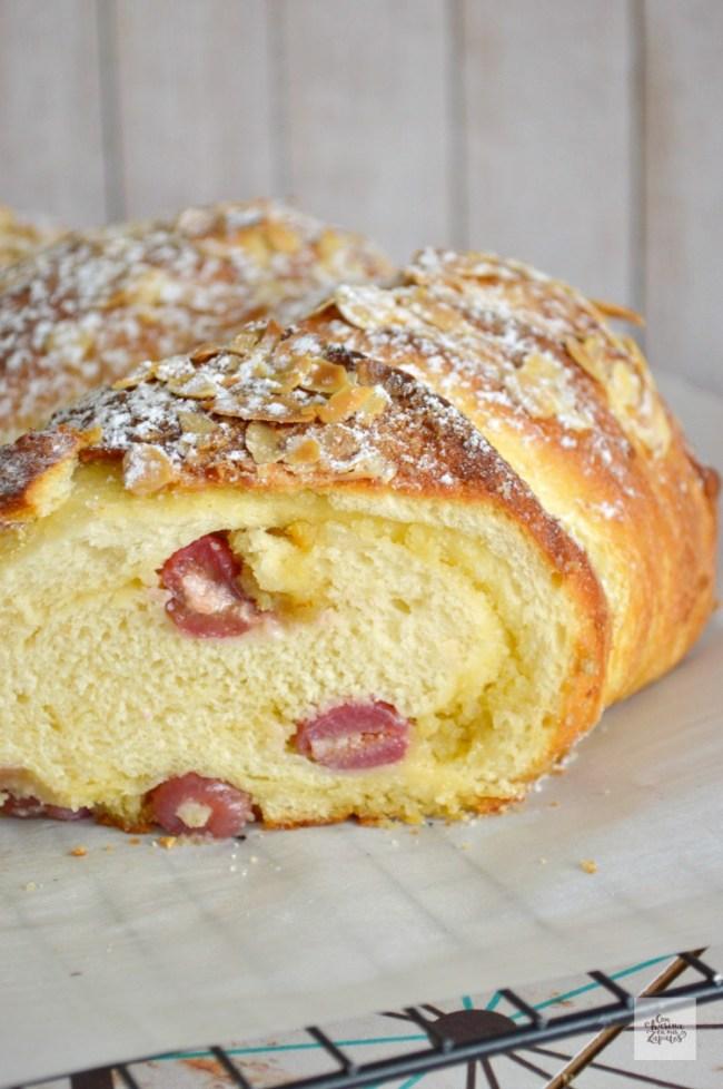 Pan de Cerezas y Frangipane | CON HARINA EN MIS ZAPATOS