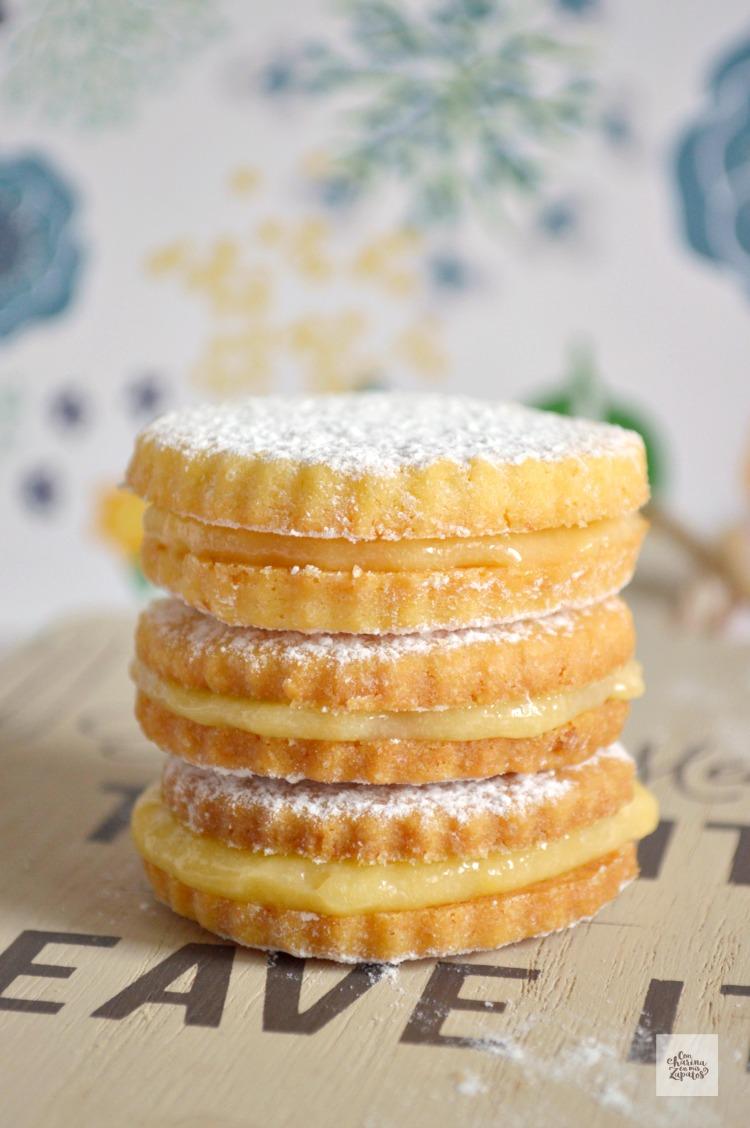 Sandwich de Limón | CON HARINA EN MIS ZAPATOS