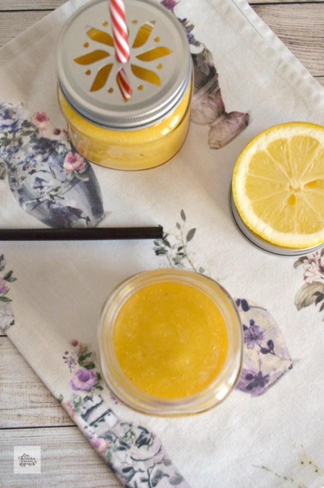 Smoothie de Limón y Mango | CON HARINA EN MIS ZAPATOS