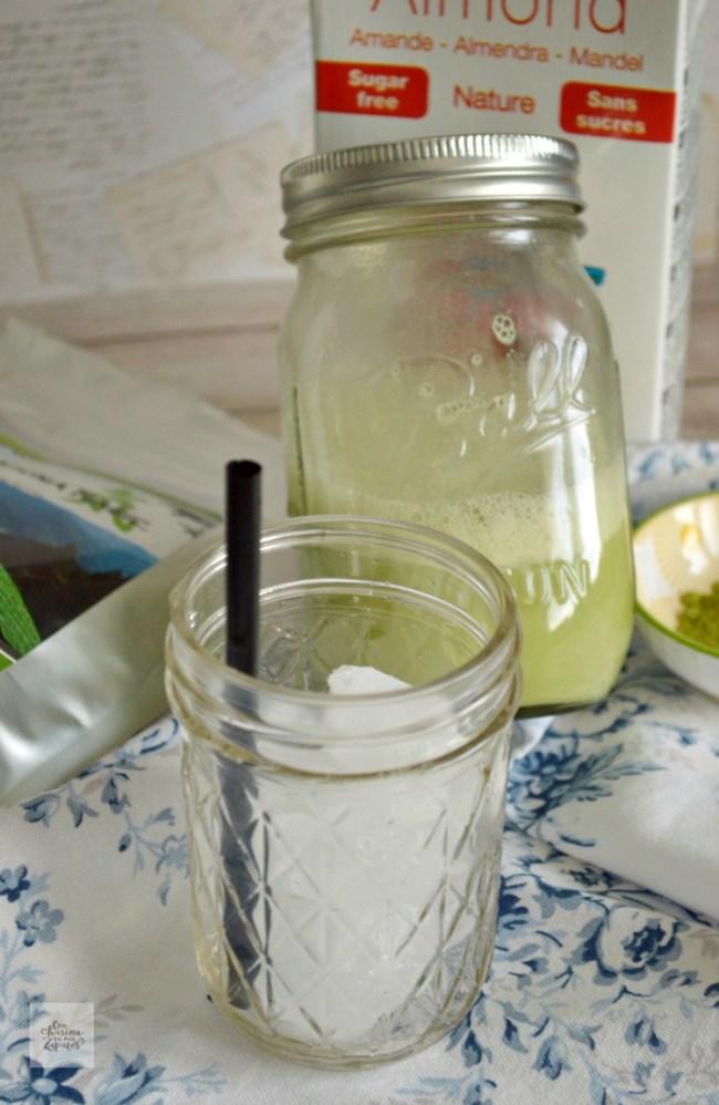 Iced Matcha Latte | CON HARINA EN MIS ZAPATOS