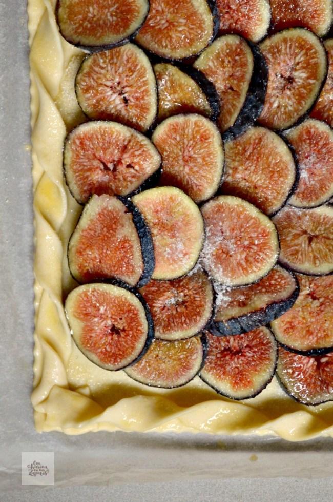 Tarta de Higos y Queso Taleggio | CON HARINA EN MIS ZAPATOS