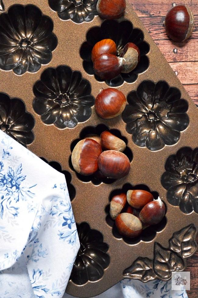 Bizcochitos de Castañas | CON HARINA EN MIS ZAPATOS