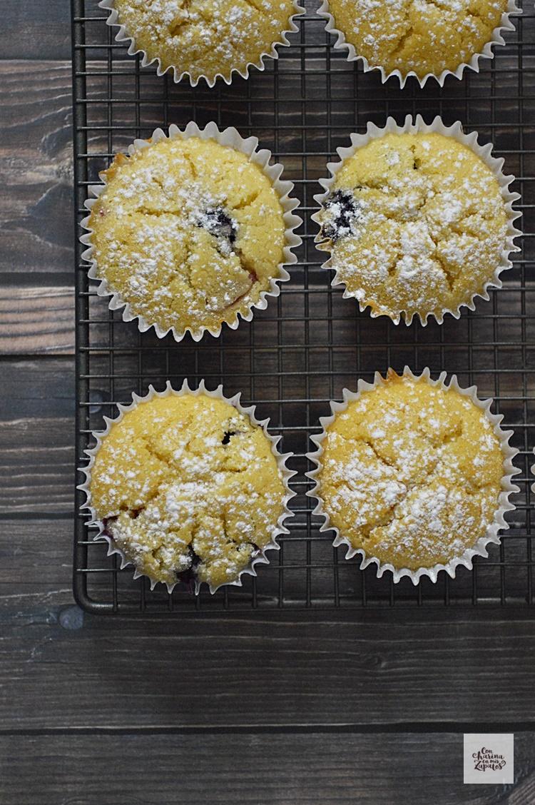 Muffins de Ricotta y Frutos Rojos
