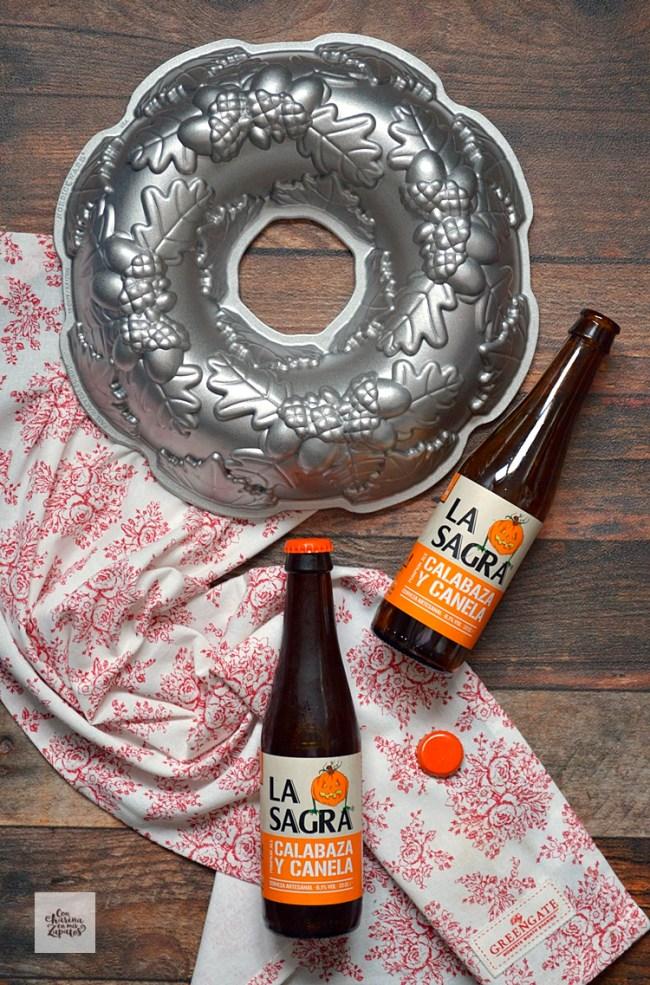 Bizcocho de Cerveza de Calabaza | CON HARINA EN MIS ZAPATOS