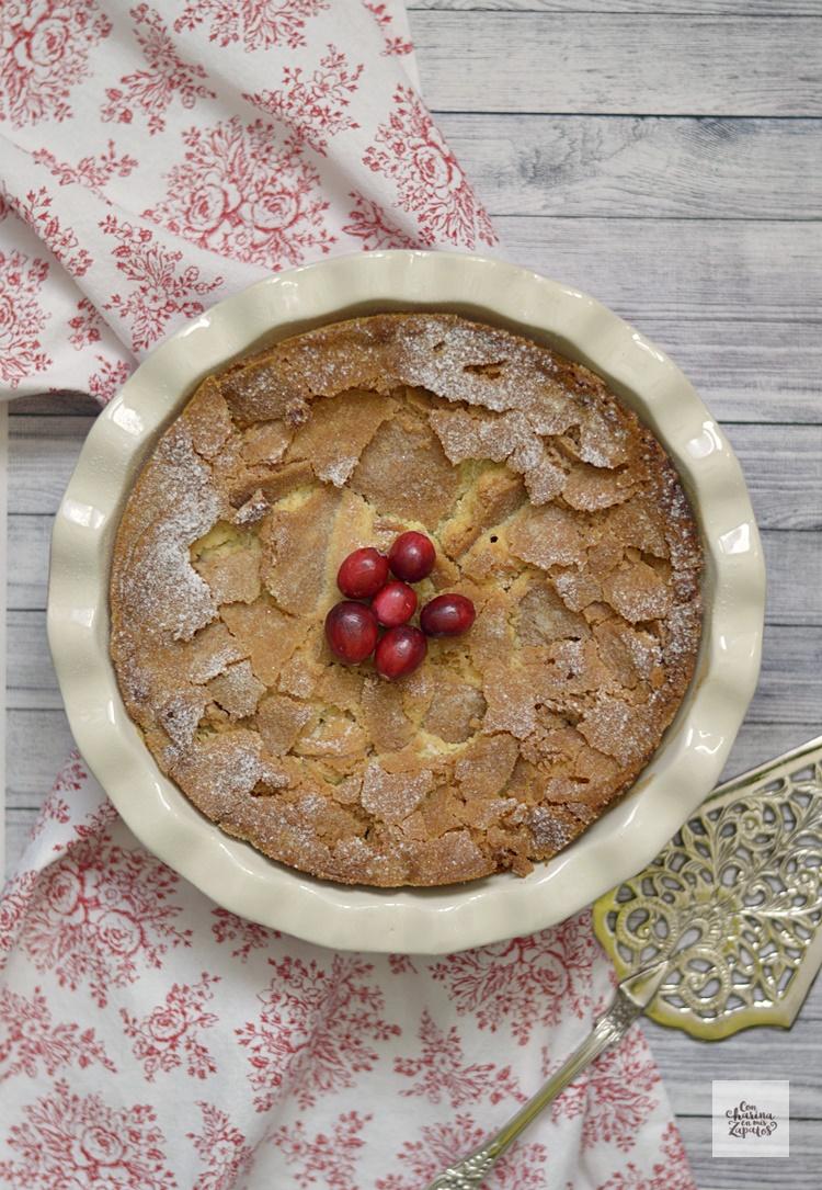 Pastel de Arándanos Rojos (Nantucket Cake)
