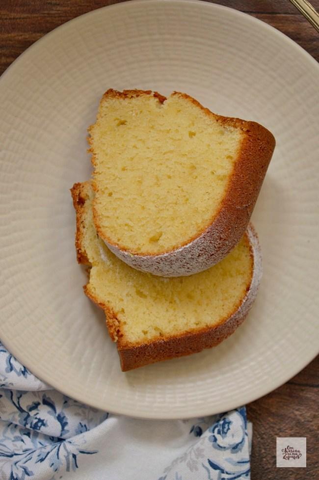 Pound Cake de Queso Ricotta | CON HARINA EN MIS ZAPATOS