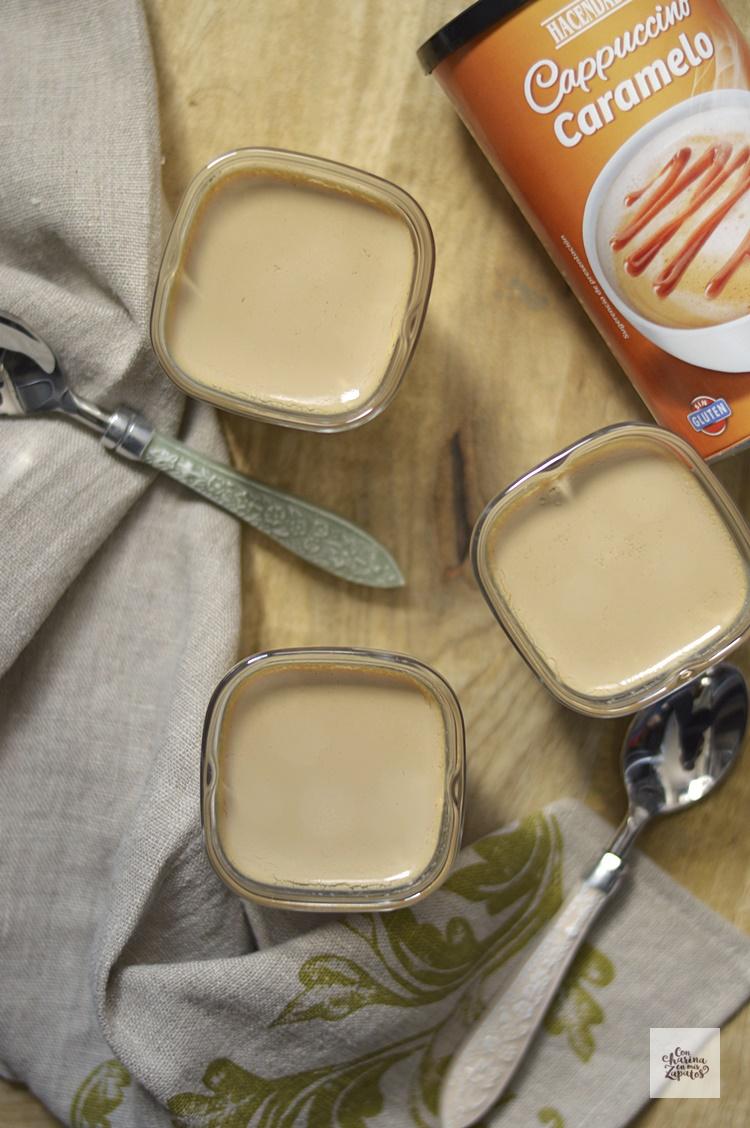 Cómo hacer Yogur de Cappuccino