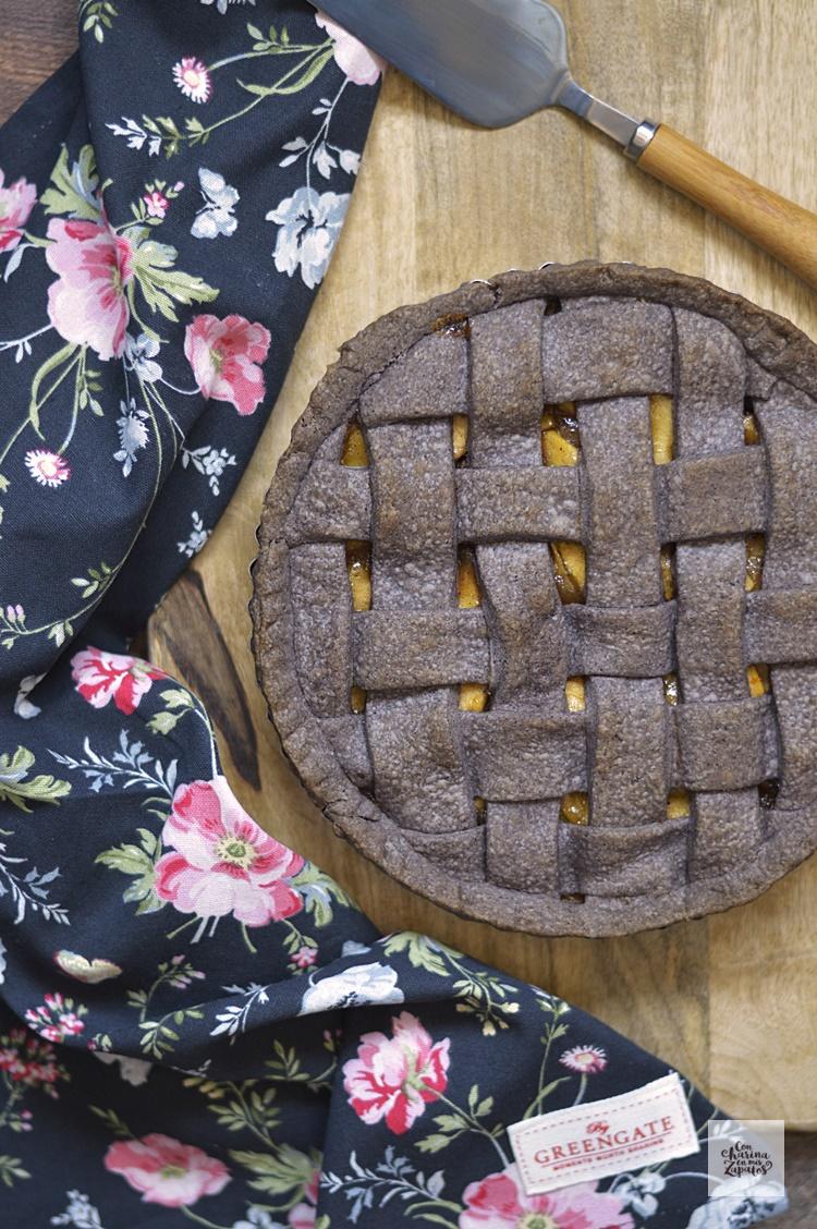 Tarta de Manzana. Y una masa especial