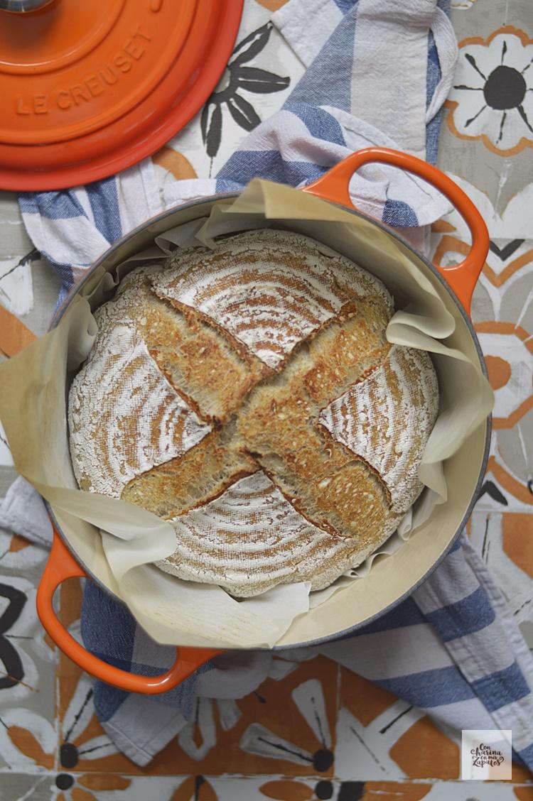 Pan Básico con Masa Madre | CON HARINA EN MIS ZAPATOS