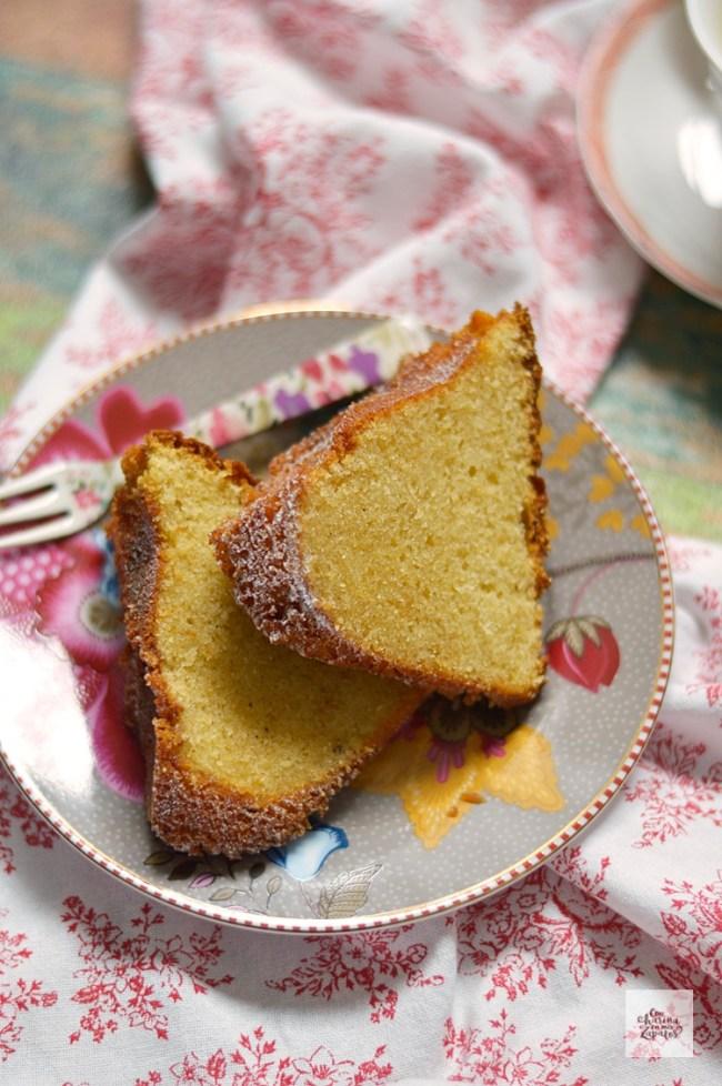 Bundt Cake de Mantequilla al Brandy | CON HARINA EN MIS ZAPATOS