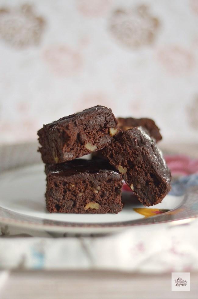 Brownie de Chocolate | CON HARINA EN MIS ZAPATOS