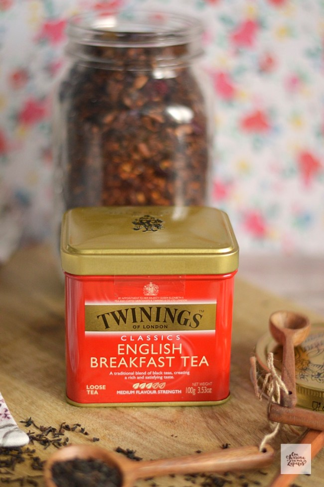 English Breakfast Granola | CON HARINA EN MIS ZAPATOS