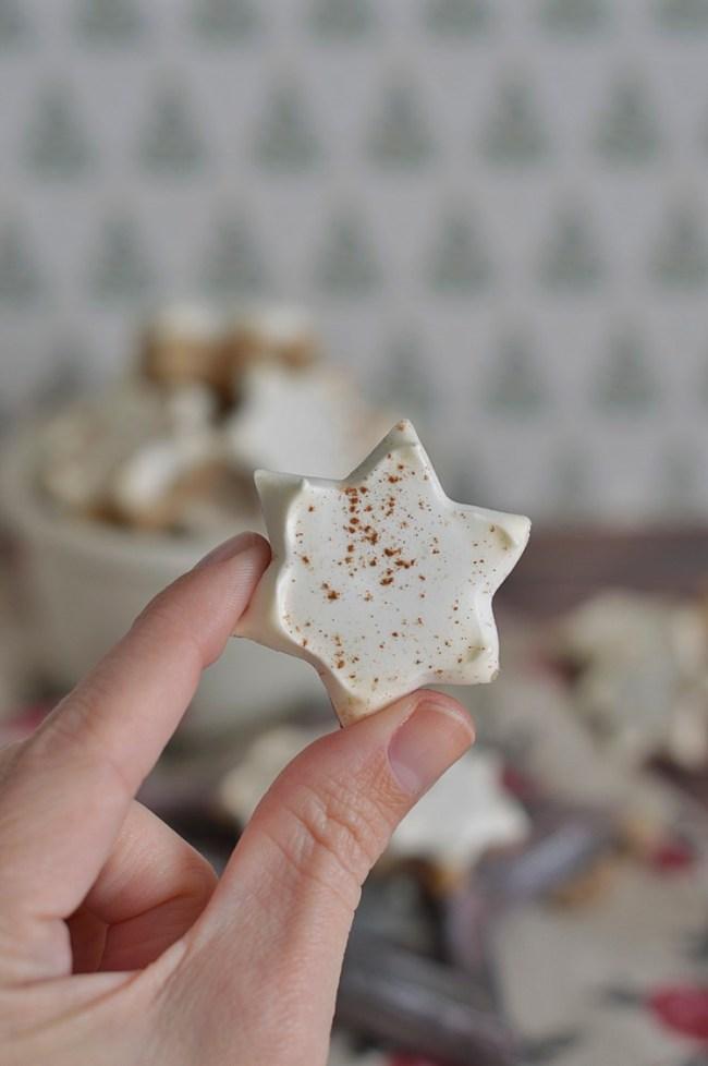 Zimtsterne (Estrellas de Canela) | CON HARINA EN MIS ZAPATOS