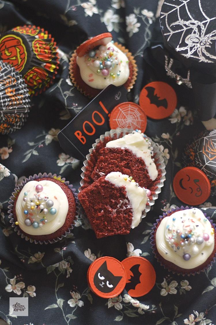 Red Velvet Cupcakes y algo más.