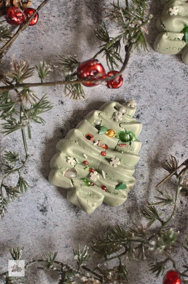 Árboles de Navidad de Merengue | CON HARINA EN MIS ZAPATOS