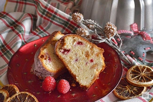 Bundt Cake de Frambuesas y Turrón | CON HARINA EN MIS ZAPATOS