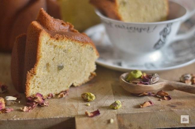 Bundt Cake de Almendra y Pistachos | CON HARINA EN MIS ZAPATOS