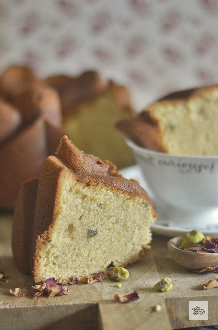 Bundt Cake de Almendra y Pistachos